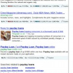 Payday Loans SERP